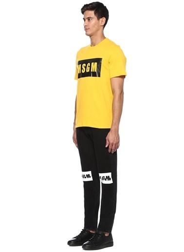 Msgm Jean Pantolon Siyah